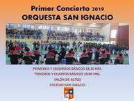 Concierto Orquesta San Ignacio para 1º-2º- 3º y 4º Básico