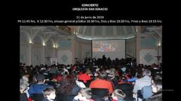 Concierto Orquesta San Ignacio