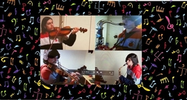 Un regalo de la Orquesta San Ignacio para nuestra Comunidad...