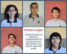 Oro en Matemáticas para el Colegio San Ignacio