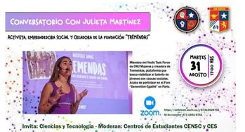 Conversatorio con Julieta Martínez