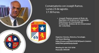 Charla con Joseph Ramos Q.