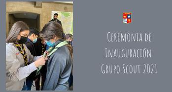 Inauguración Grupo Scout 2021