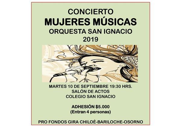 """Concierto """"Mujeres Músicas"""""""