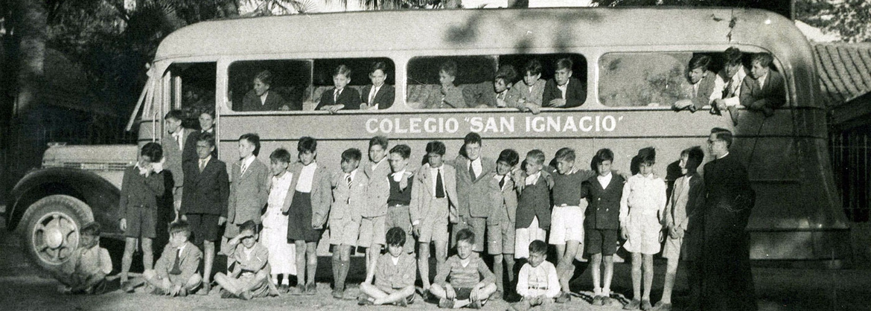 Inicios Colegio San Ignacio Alonso Ovalle